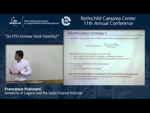 "Prof. Francesco Franzoni: ""Do ETFs Increase Volatility?"""