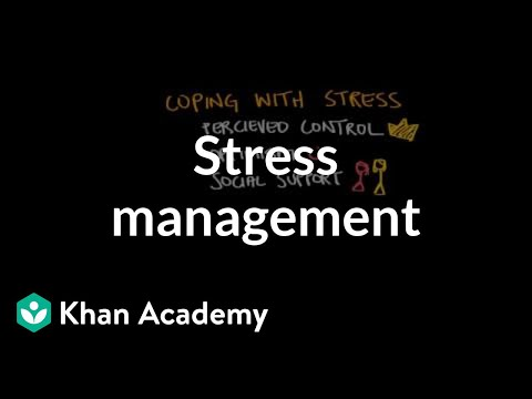 Coping/Managing Stress
