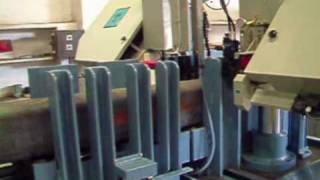 Automatic Double Column Band Saw Machine With Shuttle System