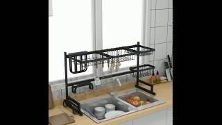 German craft stainless steel paint kitchen drainage rack