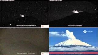 Popocatepetl - 20151218 - 00:00 A 04:54 Hrs