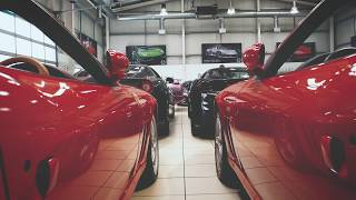 Amari Supercars Showroom