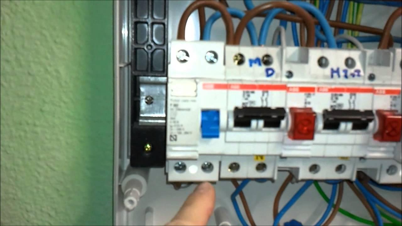 Electricista Cmo funciona el interruptor diferencial si