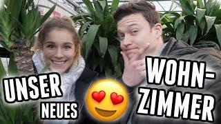 Room Make Over: Wir gestalten unser Wohnzimmer komplett um! - Vlog 102