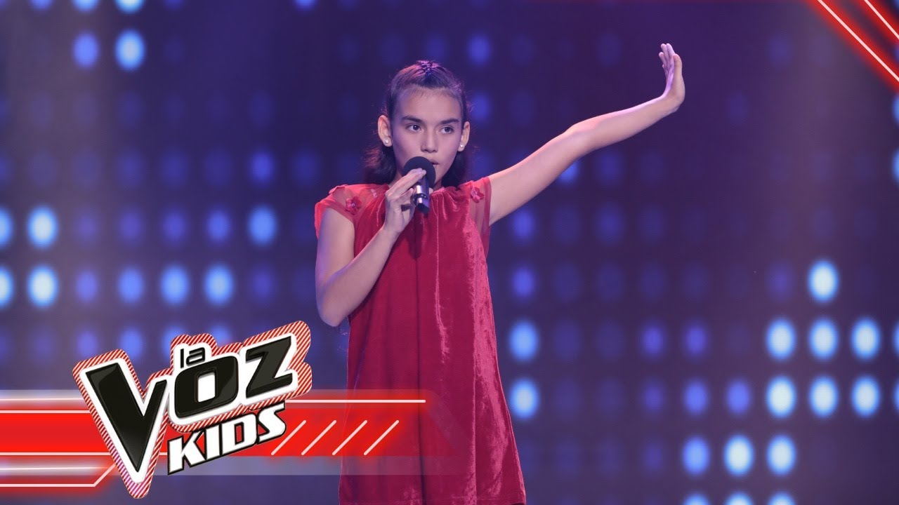 Mariana canta 'Contigo a la distancia' | La Voz Kids Colombia 2021