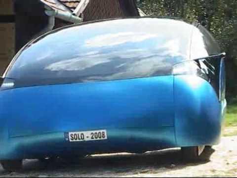 Soloduo solar hybrid car