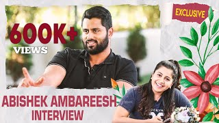 EXCLUSIVE: Abishek Ambareesh Interview With Anchor Anushree | Sandalwood | Anushree Anchor
