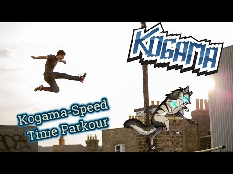 Kogama-Speed Time Parkour.