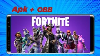 Amazing came out! Fortnite Mobile APK + obb on official Android (download)