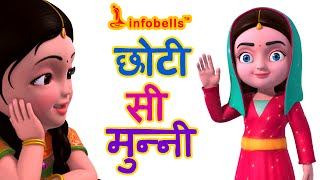 छोटी सी मुन्नी Hindi Rhymes For Children