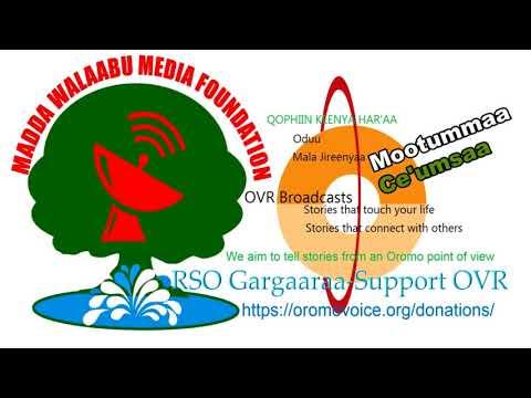 Oromo Voice Radio (OVR) Broadcasts- 21 February 2018