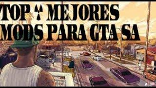 Top 6 Mejores Mods Para GTA SAN ANDREAS // PARTE 1