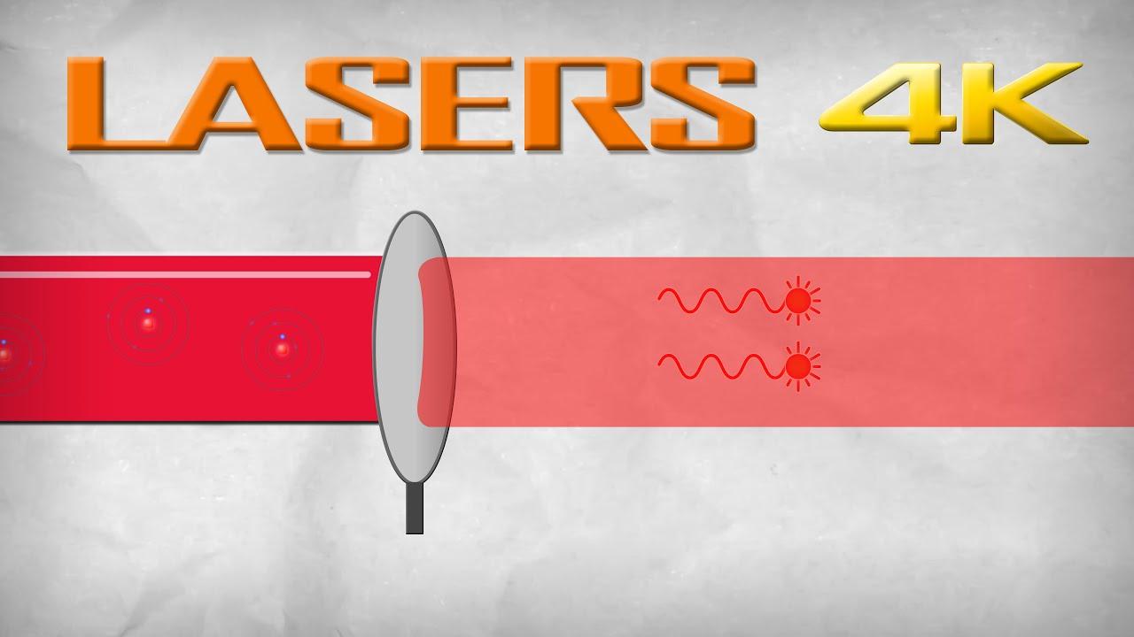 le fonctionnement des lasers infographie 4k