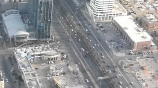 kingdom tower centre riyadh view from 100th floor sky bridge