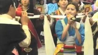 Tibetan Song - H .H 14th  Dalai Lama 75th Birthday.