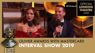 Olivier Awards 2019 with Mastercard Interval Show