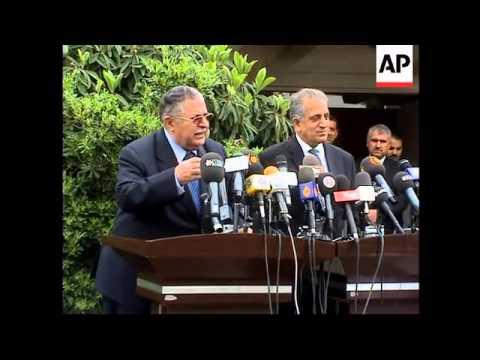 US envoy on militias, Talabani on Turkey