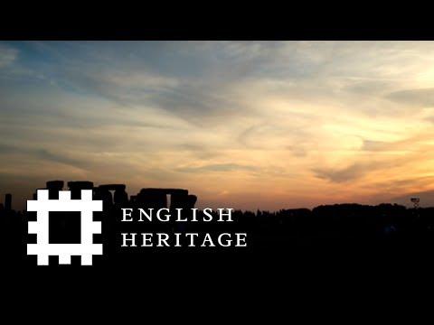 Summer Solstice Sunset Live at Stonehenge 2017