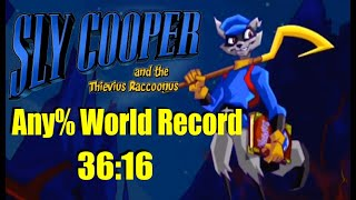 Sly 1 Any% Speedrun in 36:16 (World Record)