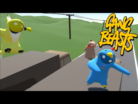 Jon Snow in a Bear Suit! - Gang Beasts Online Beta Funny Moments