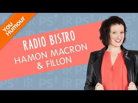 ANNE ROUMANOFF - Radio Bistro : Hamon Macron & Fillon