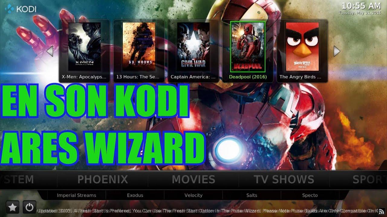 Download KODI TV SON GUNCELLEME ARES WIZARD ILE BUTUN DUNYA VE TURK KANALLARI ELINIZDE!