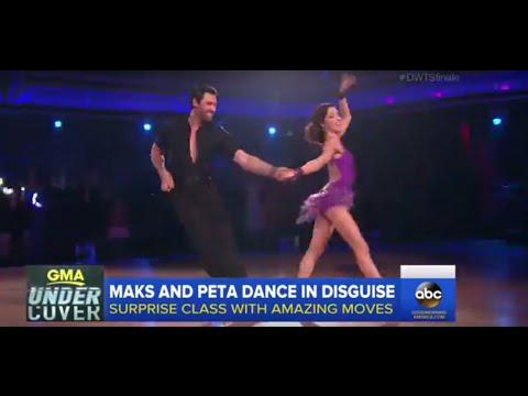 DWTS: Maks and Peta Prank Dance Class | GMA
