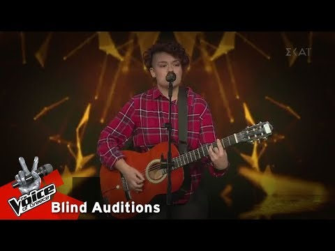 Βάϊα Καπουράνη - Η ταμπακιέρα | 14o Blind Audition | The Voice of Greece