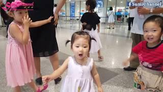Bé Sumi Đi Sân Bay Quốc Tế Nội Bài Đón Người Thân | Lần Đầu Anh Trai Của Sumi Về Việt Nam