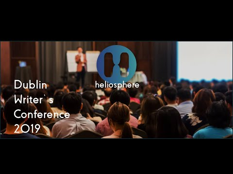 Modern Technology and writing: Friend or Foe?  Heliosphere 360 @Dublin Writer's Conference 2019