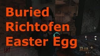 Black Ops 2 Zombies Buried Richtofen Easter Egg Mined Games