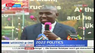 2022 politics : Leadre hit out at Murathe during a church service