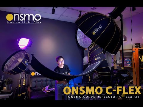 Introducing The Onsmo C-Flex Kit ( Curved Reflector ) For Portrait Shooting!