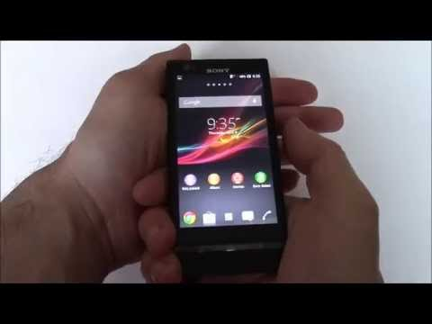 How To Take A Screen Shot On A Sony Xperia P LT22i Smartphone