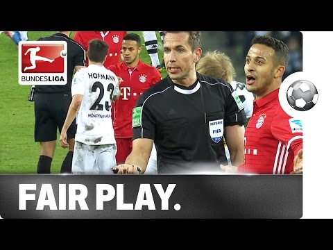 Gladbach's Fair Play Hero Hofmann - Great Gesture in Bayern Clash