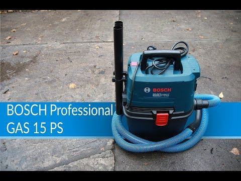 Видео обзор: BOSCH GAS 15 PS
