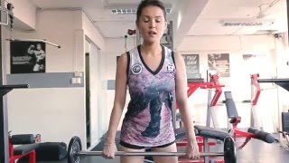 MARIA OZAWA workout video at GYM RAT