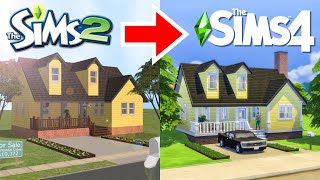 Fixing my Terrible Sims 2 Build - Random Pack Challenge!