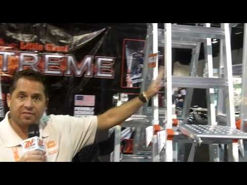 CEDIA 2013: Little Giant Ladders Features its 24-Ladders-in-One Product