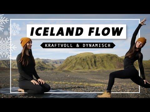Yoga Flow für Kraft und einen starken Körper | Fokus Bauch, Beine Po & Drehungen | Mittelstufe