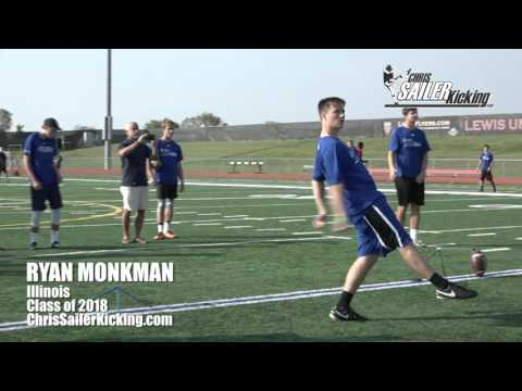 Ryan Monkman - Kicker