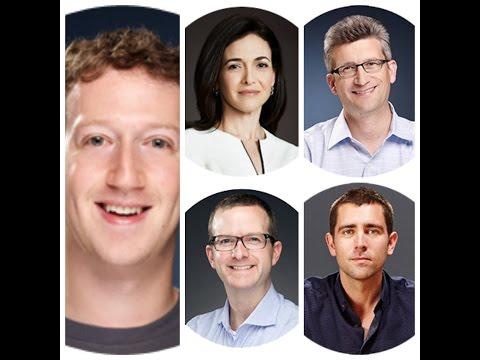 Top Management Team of Facebook