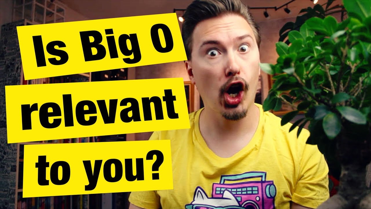 Is Big O relevant to you? - Q&A Part 1 - FunFunFunction #37
