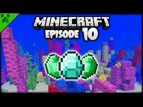 Minecraft Wrecks, Ruins, Reefs & Loot! | Python's World (Minecraft Survival Let's Play) | Episode 10