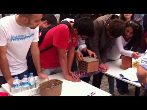 Civil Engineering 1st year project METU CE 102