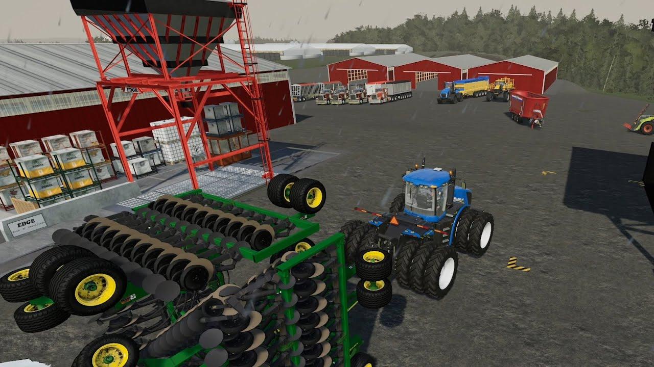 Lone Oak EP#104 | Harvest, Pigs | FS19 Timelapse | Farming Simulator 19 Timelapse