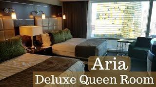Aria Las Vegas - Deluxe Queen Room | Strip View