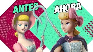 І раніше і Зараз: Бетті (Bo Peep) Toy Story | Атом Network
