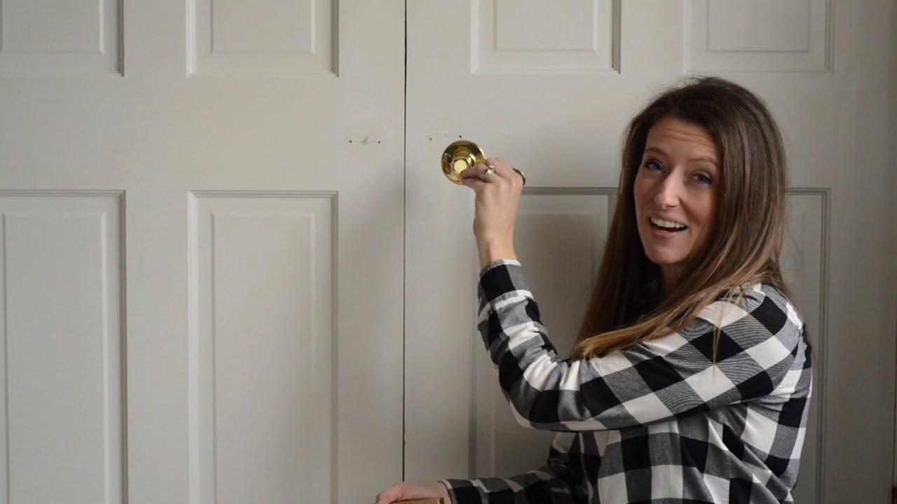 How To Install Dummy Door Knobs Youtube