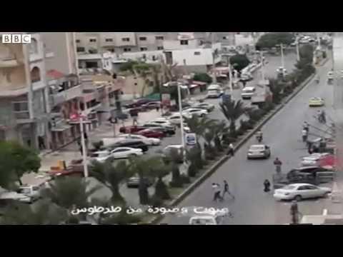 Syria  Amateur video 'shows Tartous blast'   BBC News 2